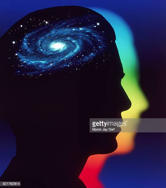 astronomical mind - spiritual enlightenment stock pictures, royalty-free photos & images