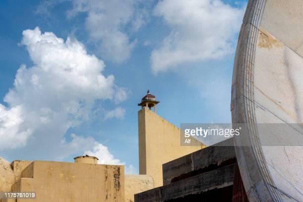 astronomical observatory of jantar mantar in jaipur, rajasthan, india - ジャンタルマンタル ストックフォトと画像