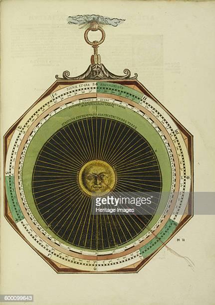 Astronomicum Caesareum 1540 Private Collection Artist Apian Peter