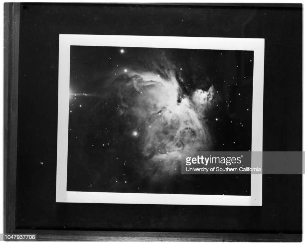Astronomy Mount Wilson and Palomar Observatories 3 May 1959 Copy negativesSupplementary material reads 'Meade from photos Mount Wilson and Palomar...