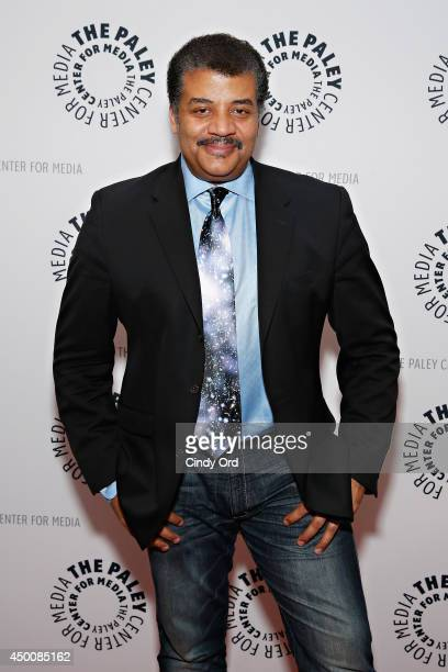 Astrophysicist/ author/ host Neil deGrasse Tyson attends the Cosmos A Spacetime Odyssey Screening Event and Panel at the Paley Center for Media on...