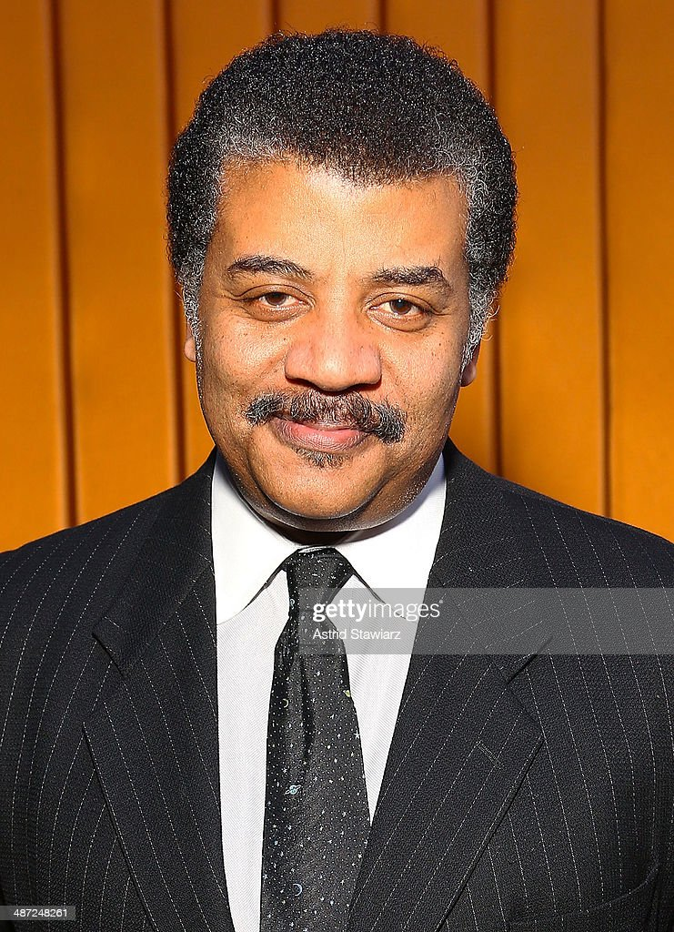 Astrophysicist Neil deGrasse Tyson attends the 2014 National Dance Institute Annual Gala at Best Buy Theater on April 28, 2014 in New York City.