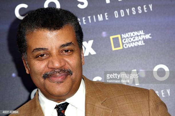 Astrophysicist Neil DeGrasse Tyson attends the FOX and National Geographic channel present a screening of Cosmos A Spacetime Oddyssey held at The...