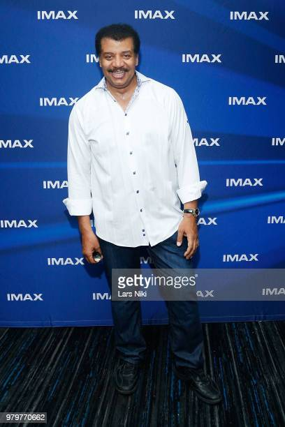 Astrophysicist Neil deGrasse Tyson attends the IMAX exclusive experience for Jurassic World Fallen Kingdom at AMC Loews Lincoln Square IMAX on June...