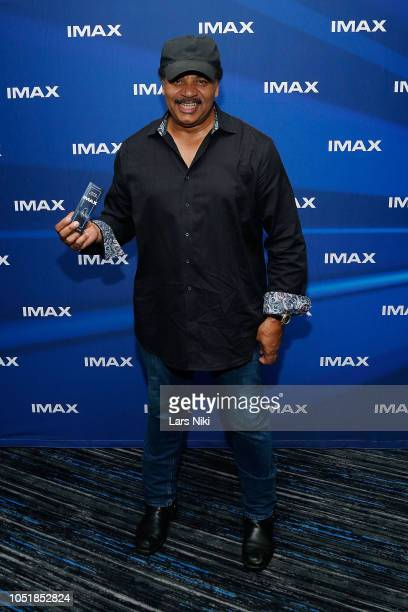 Astrophysicist Neil deGrasse Tyson attends the IMAX private screening for the movie 'First Man' at the IMAX AMC Theater on October 10 2018 in New...
