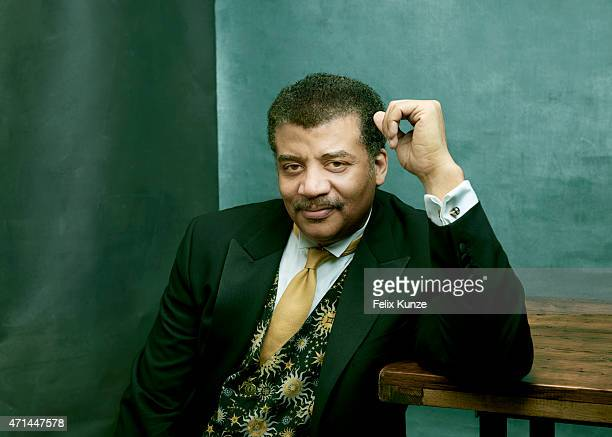 Astrophysicist Neil deGrasse Tyson is photographed at the 2015 Explorers Club Annual Dinner on March 21 2015 at the American Museum of Natural...