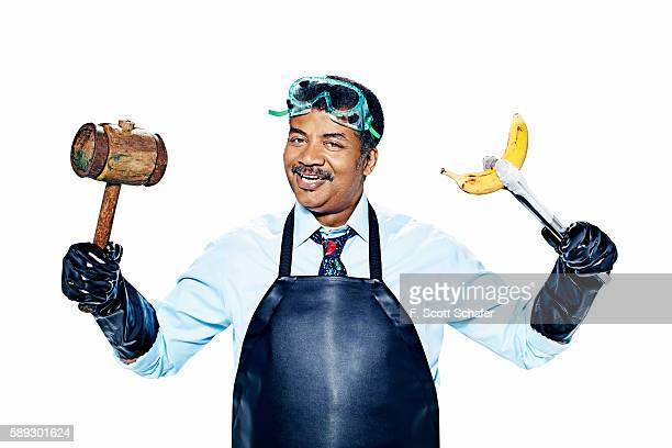 Astrophysicist Neil deGrasse Tyson is photographed for Popular Science on June 26 2015 in New York City PUBLISHED IMAGE