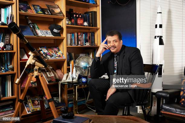 Astrophysicist Neil DeGrasse Tyson is photographed for Wall Street Journal on May 3 2017 in New York City PUBLISHED IMAGE