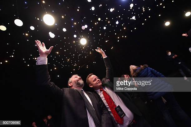 Astrophysicist Zoltan Kollath attends the unveiling of 'Stars' by Stella Artois on December 9 2015 in New York City Stella Artois sought his...