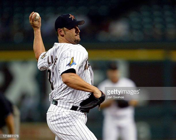 Astros' starting pitcher Ron Villone during Los Angeles Dodgers vs Houston Astros Augest 26 2003 at Minute Maid Park in Houston Texas United States