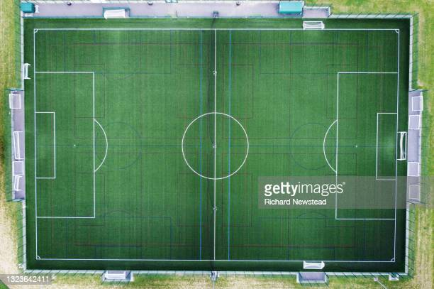 astroturf pitch - club football stock pictures, royalty-free photos & images