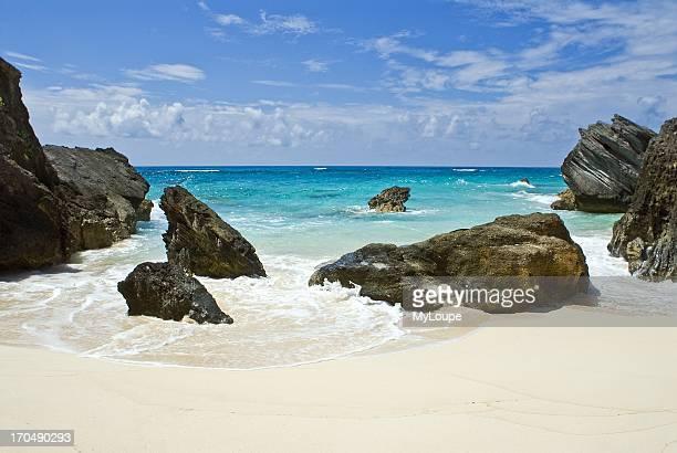 Astwood Cove beach Caribbean Bermuda
