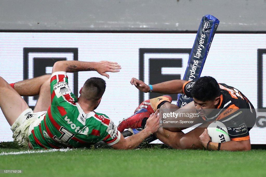 NRL Rd 18 - Tigers v Rabbitohs : News Photo
