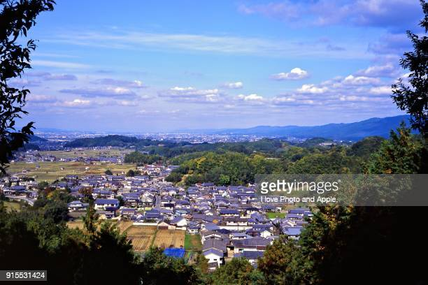 asuka village scenery - asuka stock pictures, royalty-free photos & images