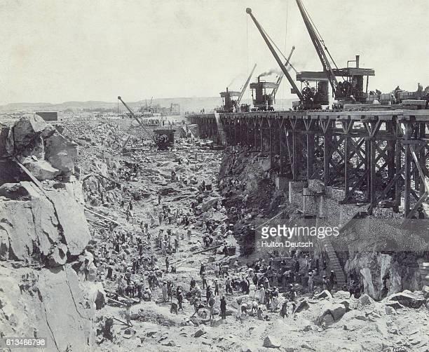 Aswan Dam Excavation