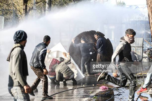 Asylum seekers, arrived in Edirne majorly from Istanbul and also from many other Turkish cities, as Greek police and border units use tear gas and...