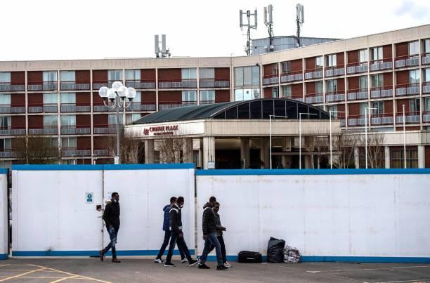 GBR: Hotel Near Heathrow Houses Asylum Seekers Awaiting Claim Processing