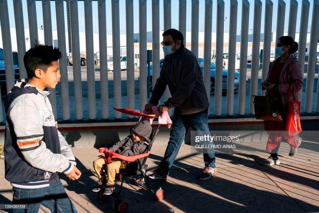 MEXICO-CHINA-HEALTH-VIRUS-COVID-19 : News Photo