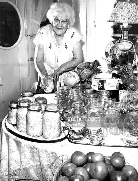 At 80 she keeps busy at canning and cake decorating Credit Denver Post