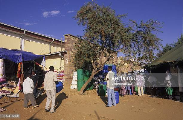 At a commercial fair in Adwa, Ethiopia - Adwa is a market town in northern Ethiopia, and best known as the community closest to the decisive Battle...