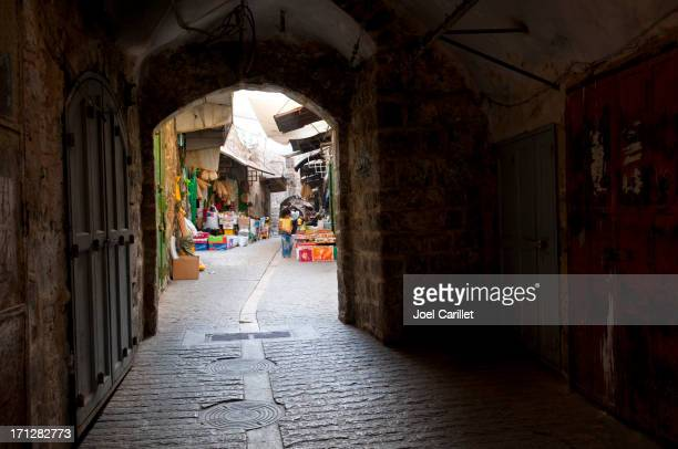 old city of hebron, west bank - hebron stock pictures, royalty-free photos & images