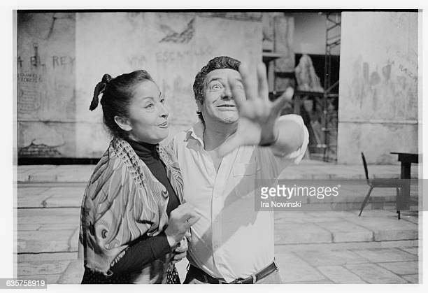 At a pre-production staging rehearsal for Bizet's Carmen at the San Francisco Opera, enthusiastic director Jean-Pierre Ponnelle gestures to...