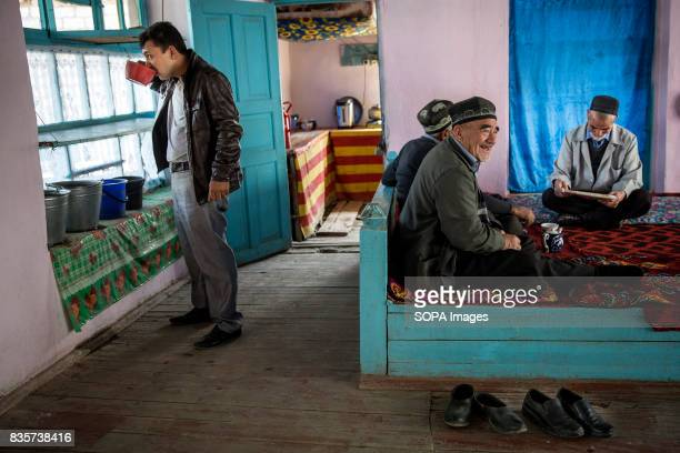At a teahouse in Beshkent Kyrgyzstan water gathered from a nearby irrigation canal called aryk The water is vulnerable to contamination from bacteria...