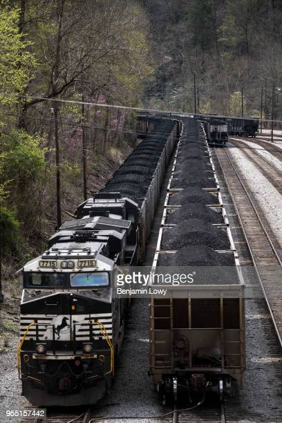 At a Wellmore coal mine in Buchanan County Va workers still toil deep underground as their predecessors did in better days when the region's coal...