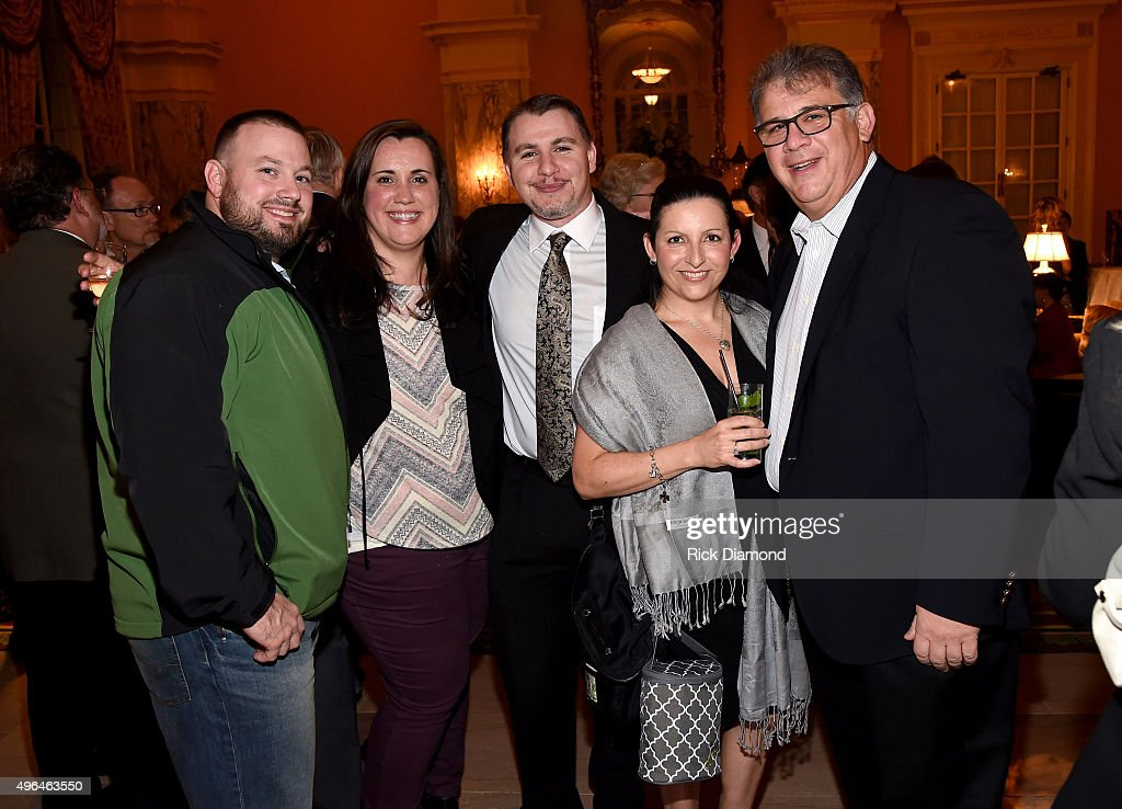 CEO at ACM Bob Romeo (R) and guests attend the NATD Honors Gala on November 9, 2015 in Nashville, Tennessee.