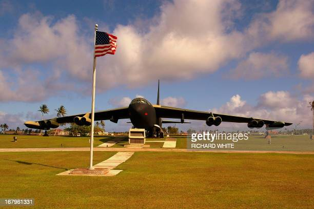 CONTENT] B52 at Anderson Air Force Base on the Island of Guam U