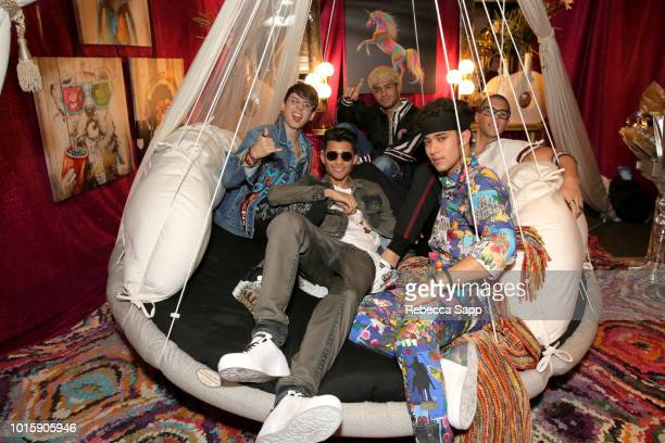 CNCO at Backstage Creations Celebrity Retreat At Teen Choice 2018 Day 2 at The Forum on August 12 2018 in Inglewood California