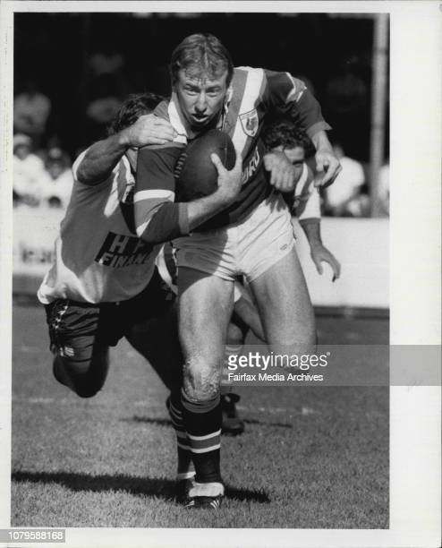 R L At BelmoreCanterbury Vs EastsWayne Portlock Injured Young Coach Out For The 1992 Season
