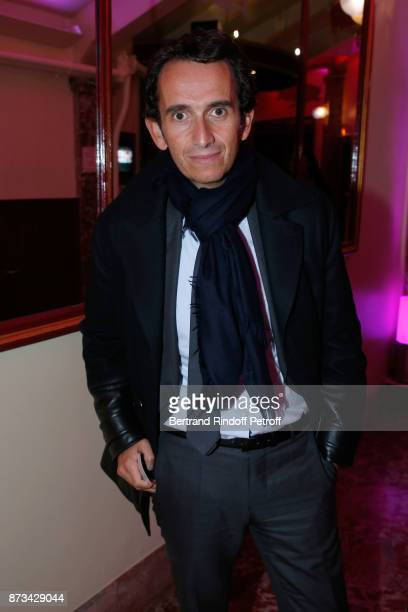 CEO at Carrefour Group Alexandre Bompard attends Depardieu Chante Barbara at Le Cirque D'Hiver on November 10 2017 in Paris France