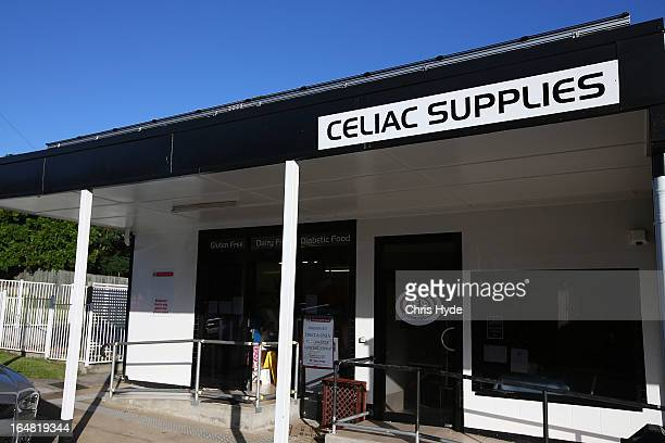 at Celiac Supplies in the suburb of Coorparoo on March 28 2013 in Brisbane Australia The owner of the speciality food shop is charging $5 for...
