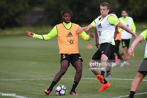 at Chelsea Training Ground on July 6 2016 in Cobham England