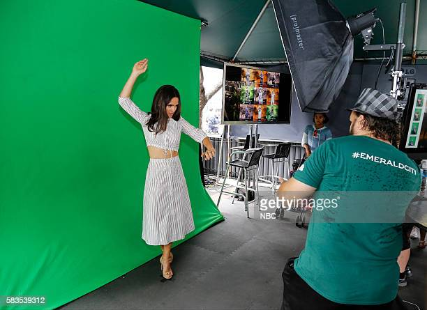 DIEGO 2016 NBC at ComicCon Pictured Adria Arjona Emerald City at the NBC Activation Tin Fish San Diego Calif July 23 2016