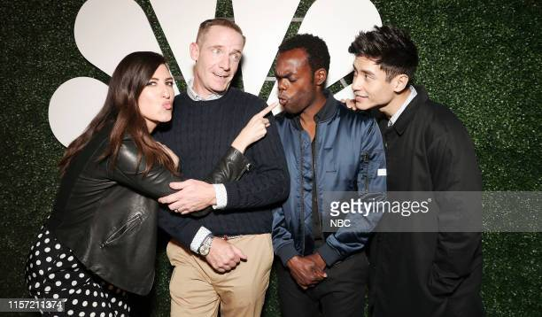 DIEGO 2019 NBC at ComicCon Pictured D'Arcy Carden Marc Evan Jackson William Jackson Harper Manny Jacinto The Good Place at NBC's Annual SDCC Party...