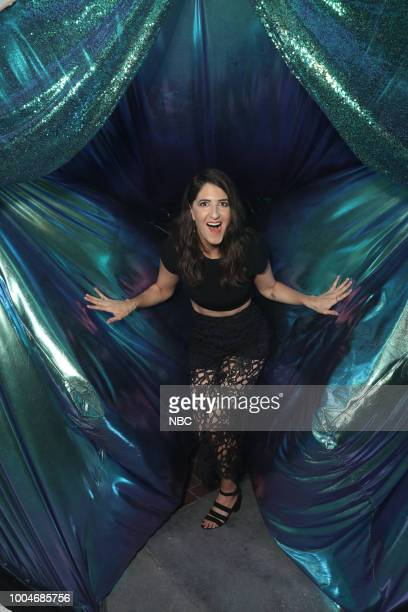 DIEGO 2018 'NBC at ComicCon' Pictured D'Arcy Carden 'The Good Place' at the NBC SDCC Party at the Tin Fish Gaslamp San Diego Calif