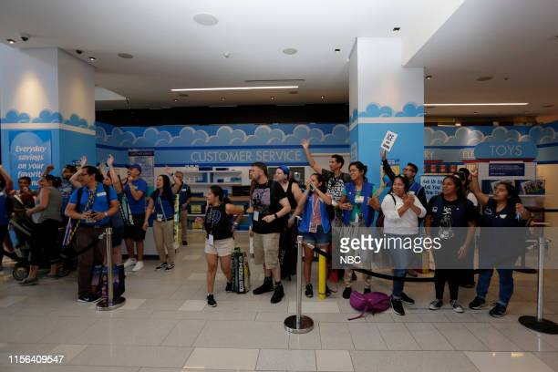 DIEGO 2019 NBC at ComicCon Pictured Fans at NBC's 'Superstore' activation at the Hard Rock Hotel San Diego Calif on July 18 2019