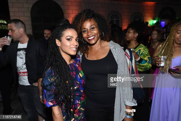 DIEGO 2019 NBC at ComicCon Pictured Freema Agyeman New Amsterdam Pearlena Igbokwe President Universal Television at NBC's Annual SDCC Party San Diego...