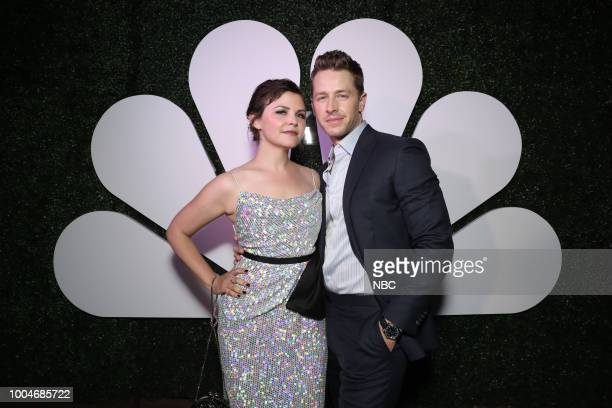 DIEGO 2018 'NBC at ComicCon' Pictured Ginnifer Goodwin Josh Dallas at the NBC SDCC Party at the Tin Fish Gaslamp San Diego Calif