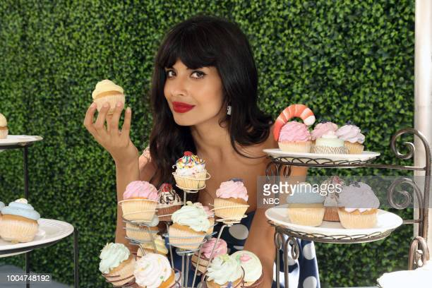 DIEGO 2018 NBC at ComicCon Pictured Jameela Jamil at the 'The Good Place' activation at Tin Fish Gaslamp San Diego Calif