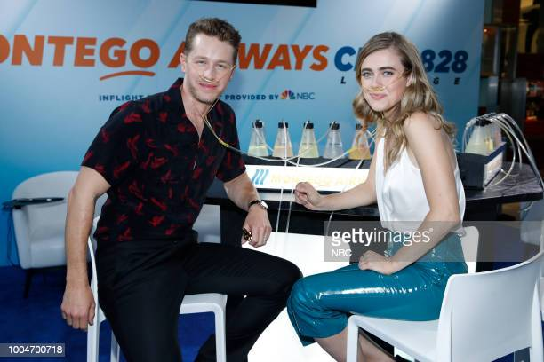 DIEGO 2018 NBC at ComicCon Pictured Josh Dallas Melissa Roxburgh at the 'Manifest' activation at Hard Rock Hotel San Diego Calif