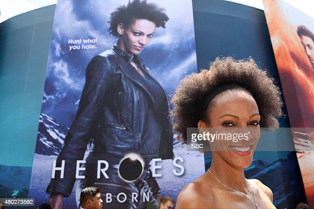 DIEGO 2015 'NBC at ComicCon' Pictured Judith Shekoni at the 'Heroes Reborn' Installation Friday July 10 from Tin Fish Gaslamp San Diego Calif