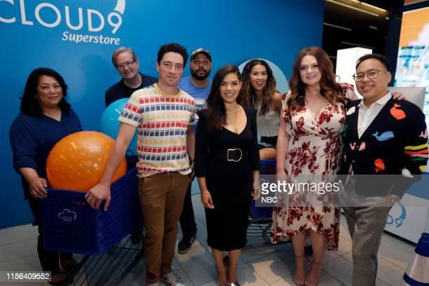 DIEGO 2019 NBC at ComicCon Pictured Kaliko Kauahi Mark McKinney Ben Feldman Colton Dunn America Ferrera Nichole Bloom Lauren Ash Nico Santos at NBC's...