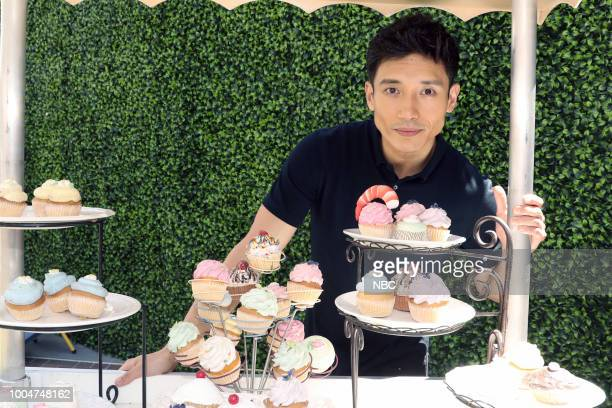 DIEGO 2018 NBC at ComicCon Pictured Manny Jacinto at the 'The Good Place' activation at Tin Fish Gaslamp San Diego Calif