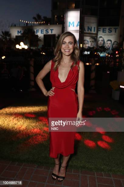"""At Comic-Con"""" -- Pictured: Melissa Roxburgh at the NBC SDCC Party at the Tin Fish Gaslamp, San Diego, Calif. --"""