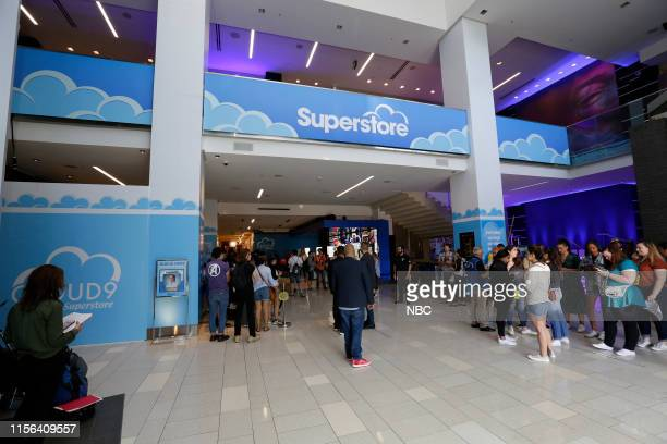 DIEGO 2019 NBC at ComicCon Pictured NBC's 'Superstore' activation at the Hard Rock Hotel San Diego Calif on July 18 2019