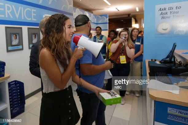 DIEGO 2019 NBC at ComicCon Pictured Nichole Bloom at NBC's 'Superstore' activation at the Hard Rock Hotel San Diego Calif on July 18 2019