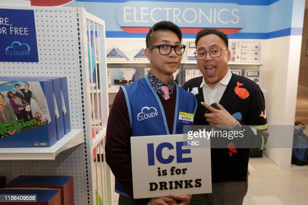DIEGO 2019 NBC at ComicCon Pictured Nico Santos at NBC's 'Superstore' activation at the Hard Rock Hotel San Diego Calif on July 18 2019